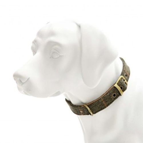Tweed Dog Collar2